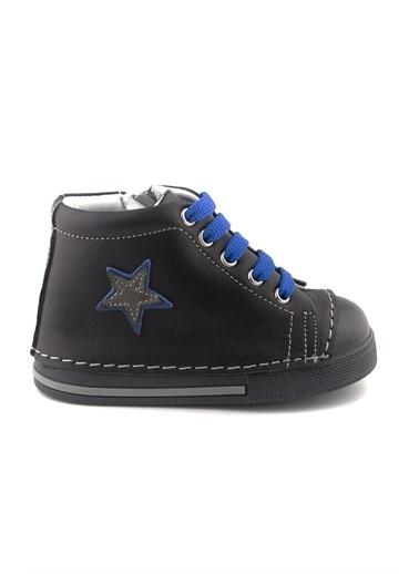 Cici Bebe Ayakkabı Erkek Çocuk Bot Siyah